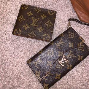 Louis Vuitton men's and women's wallet phone case